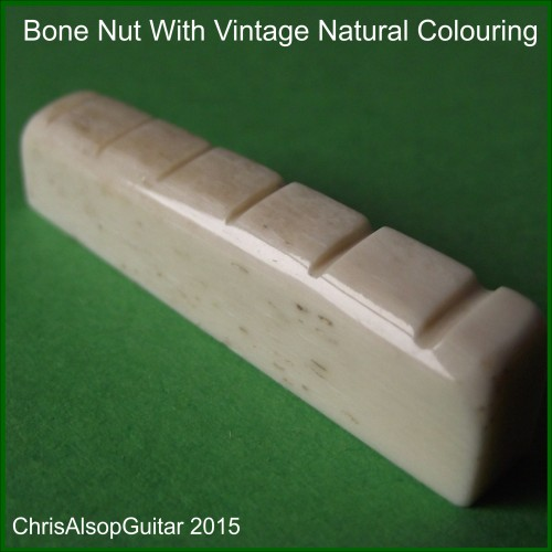 Bone Nut with Natural colouring