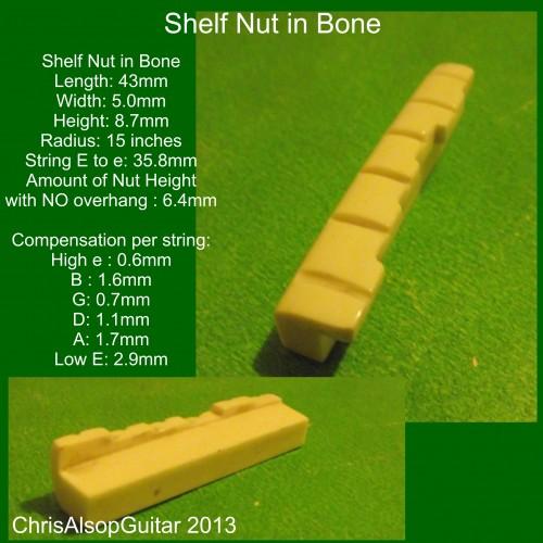 Shelf Nut in Bone