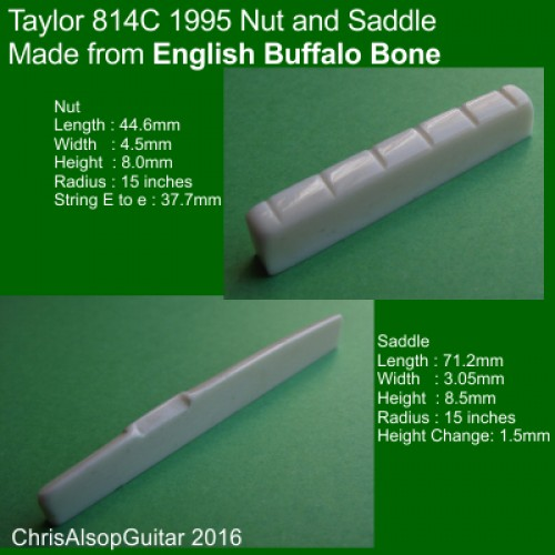 Taylor 814C Buffalo Saddle and Nut