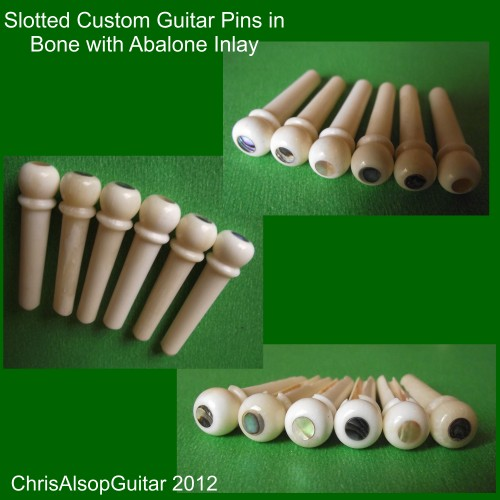 Custom made 6.3mm bone pins