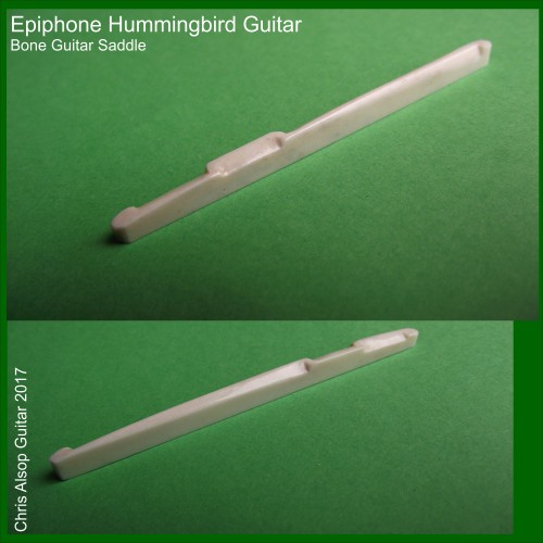 Epiphone Hummingbird Bone Guitar Saddle