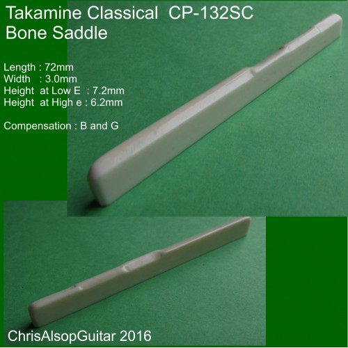 Takamine Classical CP-132SC Saddle