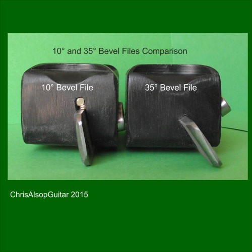 10 and 35 Degree Fret End Bevel Files