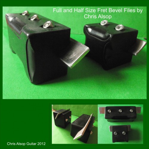 Full and Half Size Fixed Angle bevel Files