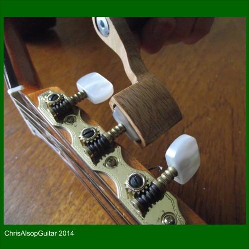 Wooden Guitar String Winder