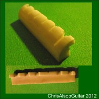 Compensating Guitar Bone Nut