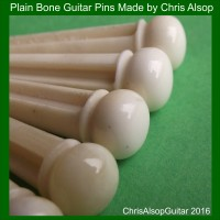 Undecorated Guitar Pins. Custom Made
