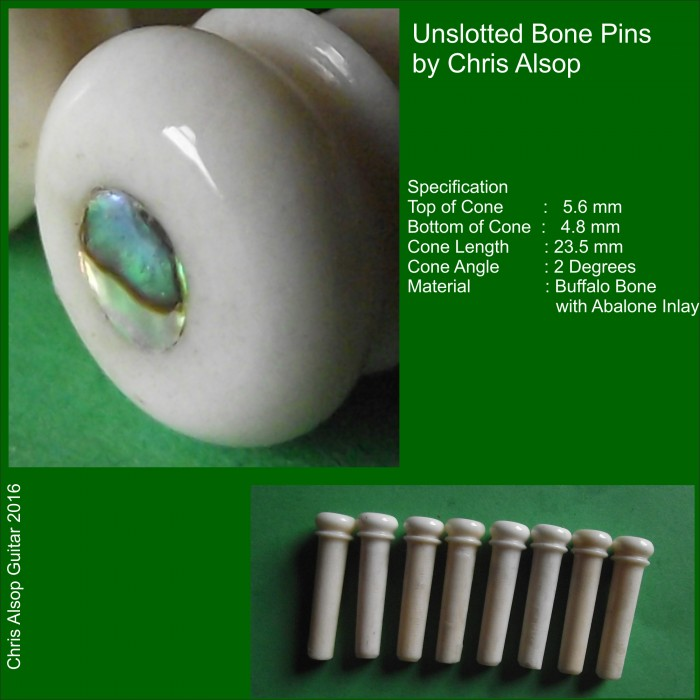 Custom Made Guitar Bridge Pins  Any size and decoration