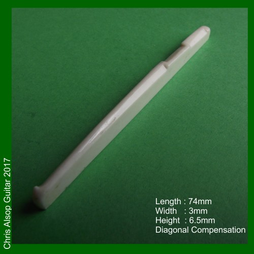 Diagonal Compensation Bone Saddle