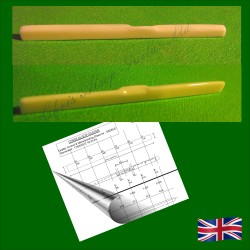 Classical Bone Guitar Saddle With Modelling
