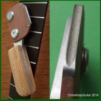 Diamond Fret Crowning File, Beech Handle. Choose File Size
