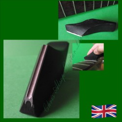 Diamond Fret Crowning File with Black Handle