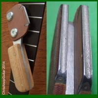 Diamond Fret Crowning Files with Beech Handle