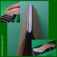 Diamond Fret Crowning File with Oak Handle