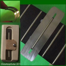 Fretboard Protectors. Various Sizes. Spring Steel